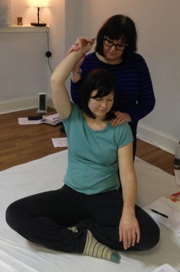 Spanish Dancer move - Great for shoulder tension!