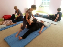 Thai yoga massage training course in Glasgow